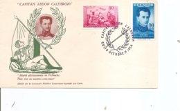 Equateur - Capitaine Abdon Calderon ( FDC De 1964 à Voir) - Ecuador