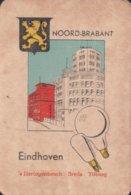 1 Oude Speelkaart Uit Steden Kwartet : Noord-Brabant : Eindhoven ( Lampen Philips ) - Speelkaarten