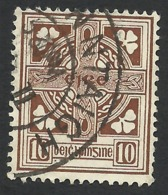 Ireland, 10 P. 1940, Sc # 116, Mi # 81A, Used. - 1937-1949 Éire