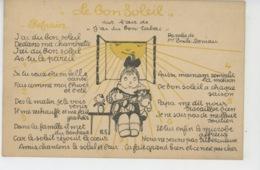 SANTÉ - Jolie Carte Fantaisie éditée Par La COMMISSION AMERICAINE DE PRÉSERVATION DE LA TUBERCULOSE - Health