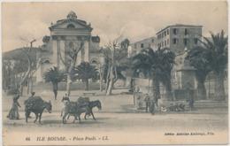 Corse Cpa  Ile Rousse Place Paoli - Francia