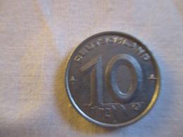 Germany: DDR 10 Pfennig 1952 A - [ 6] 1949-1990 : RDA - Rep. Dem. Alemana