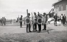 60s SKI  PUERTO DE NAVACERRADA MADRID ESPANA SPAIN ESPAGNE AMATEUR 35mm ORIGINAL NEGATIVE Not PHOTO No FOTO - Autres