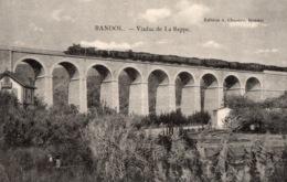 VAR 83 BANDOL VIADUC DE LA REPPE AVEC TRAIN - Bandol