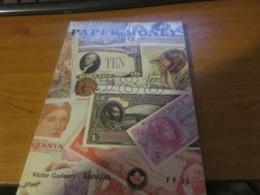 Livre Catalogue Paper Money De Victor Gadoury - Banconote