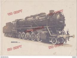 Au Plus Rapide Photo Originale Grand Format Locomotive Henschel 3016 Très Bon état - Trenes