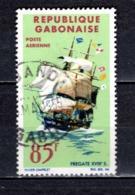 GABON  PA N° 34  OBLITERE  COTE 2.00€    BATEAUX - Gabun (1960-...)