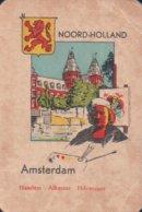 1 Oude Speelkaart Uit Steden Kwartet : Noord-Holland : Amsterdam - Cartes à Jouer