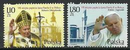 Poland 2002 Mi 3984-3985 Fi 3834-3835 MNH ( ZE4 PLD3984-3985dav68B ) - Polonia