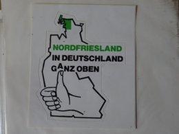 Autocollant Adhésif Nordfriesland In Deutschland - Obj. 'Remember Of'