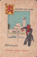 1 Oude Speelkaart Uit Steden Kwartet : Noord-Holland : Hilversum ( Viool ) - Andere