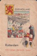 1 Oude Speelkaart Uit Steden Kwartet : Zuid-Holland : Rotterdam - Speelkaarten