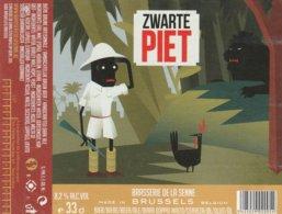 Brasserie De La Senne Zwarte Piet - Cerveza