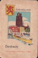 1 Oude Speelkaart Uit Steden Kwartet : Zuid-Holland : Dordrecht - Speelkaarten