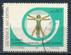 °°° ARGENTINA - Y&T N°1593 - 1987 °°° - Used Stamps