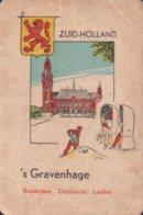 1 Oude Speelkaart Uit Steden Kwartet : Zuid-Holland : 's Gravenhage - Speelkaarten