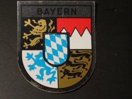 Blason écusson Autocollant Adhésif Coat Of Arms Sticker Aufkleber Wappen Bayern Bavière - Obj. 'Remember Of'