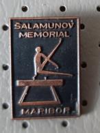 Gymnastic Salamunov Memorial Maribor  Pommel Horse Slovenia Pin - Gymnastiek