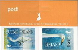 """FINLANDIA /FINLAND / FINNLAND /FINLANDIE   -EUROPA 2019-NATIONAL BIRDS.-""""AVES-BIRDS -VÖGEL-OISEAUX""""- SERIE CABECERA HOJA - 2019"""
