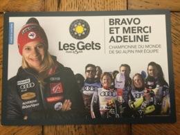Adeline Baud Meunier Équipe De France De Ski - Sports D'hiver