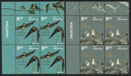 "CROACIA /CROATIA /KROATIEN /HRVATSKA  -EUROPA 2019 -NATIONAL BIRDS.-""AVES -BIRDS -VÖGEL-OISEAUX""BLOQUE De 4 - A - 2019"