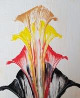 Tableau Peinture Acrylique - Fleurs étagées - Other