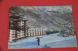Imperia Monesi Sciatore In Campo Sci A Fine Giornata 1968 - Autres Villes