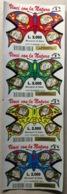 GRATTA E VINCI - Vinci Con La Natura - STRISCIA DI 4 BIGLIETTI - Biglietti Della Lotteria
