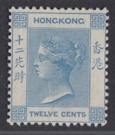 Hong Kong - 1882-1902 - 12c Yv.43 - MH - Hong Kong (...-1997)