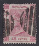 Hong Kong - 1863-77 - 48c Yv.18 - Used - Hong Kong (...-1997)