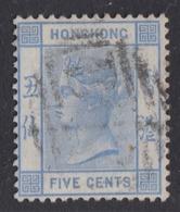 Hong Kong - 1880 - 5c Yv.30 - Used - Hong Kong (...-1997)