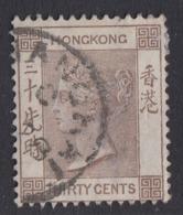 Hong Kong - 1882-1902 - 30c Yv.45 - Used - Hong Kong (...-1997)
