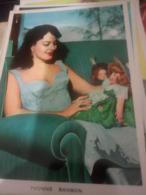 YVONNE SANSON- Film Star CINEMA Pin Up PHOTO POSTCARD.  N1965 HG1514 - Artisti