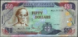 JAMAICA - 50 Dollars 15.01.2007 UNC P.83 B - Jamaica