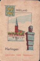 1 Oude Speelkaart Uit Steden Kwartet : Friesland : Harlingen - Speelkaarten