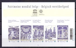 Blok 168 Unesco Ongetand 2009 - Belgium