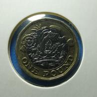 Great Britain 1 Pound 2016 - 1971-… : Monedas Decimales