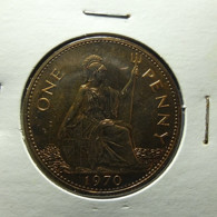 Great Britain 1 Penny 1970 Proof - D. 1 Penny