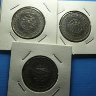 3 Coins Angola And Moçambique 10 Escudos 1969 And 1970 - Mezclas - Monedas