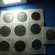 10 Coins Moçambique And Angola 20 Escudos 1971 - Monete & Banconote