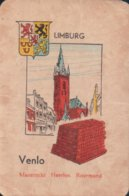 1 Oude Speelkaart Uit Steden Kwartet : Limburg : Venlo - Cartes à Jouer