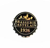 Capsules Ou Plaques De Muselet  BIÈRE BRASSERIE CASTELAIN 1926 - Bier