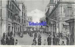 Salonique - Rue Vénizelos , Vue De La Mer - 1917 - Greece