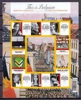 Blok 175 This Is Belgium Boek En Literatuur Ongetand 2009 - Belgium