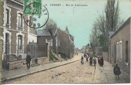 CAUDRY  Rue De Valenciennes - Caudry