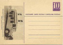 """117 - 69 - Entier Postal Neuf  Avec Illustration """"Bureau De Poste Automobile"""" - Ganzsachen"""