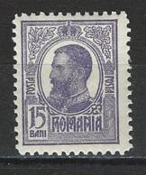 Rumänien Mi 224 * MH - 1881-1918: Charles Ier