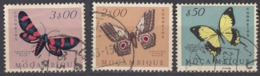 MOZAMBICO - 1953 - Lotto Di 3 Valori Usati: Yvert 424, 428 E 431. - Mozambico