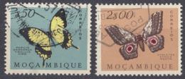 MOZAMBICO - 1953 - Lotto Di 2 Valori Usati: Yvert 424 E 428. - Mozambico