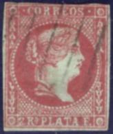 1855. Cuba. Antillas. Ed. 3 Usado. Charnela - Cuba (1874-1898)